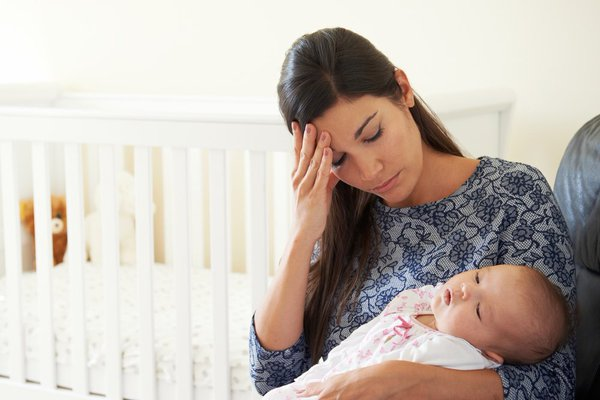 إكتئاب ما بعد الولادة حاجة بتجلنا كلنا