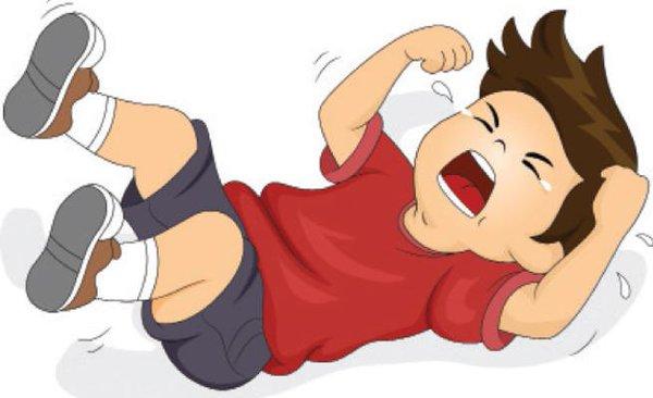 نوبات الغضب الأطفال : اللى يصبر ينول